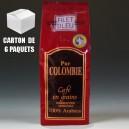 6 paquets Pur Colombie grains (6 x 250g)