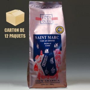 12 paquets Saint-Marc grains (12 x 500g)
