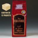 12 paquets Pur Colombie grains (12 x 250g)